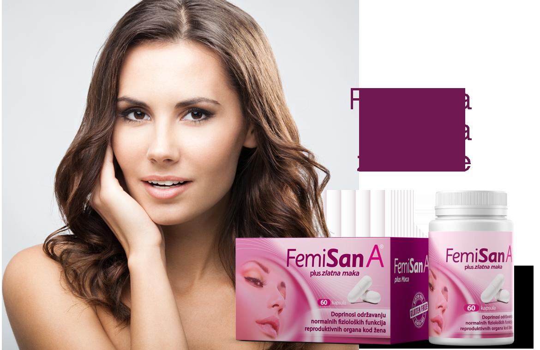 Femisan A plus kapsule - Prirodna formula za žene